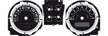 Tachoscheiben/ Gauge Faces / Dial Mustang 2010/2011/2012 incl GT500 und Boss 302