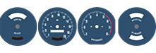 Tachoscheiben Pontiac GTO 1964-1966