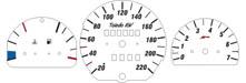 Tachoscheibe Toledo 1L |alle Modelle